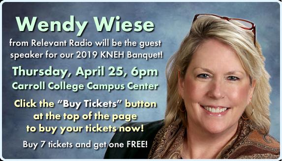 Wendy Wiese KNEH Banquet Slide