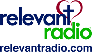 A logo image for Relevant Radio